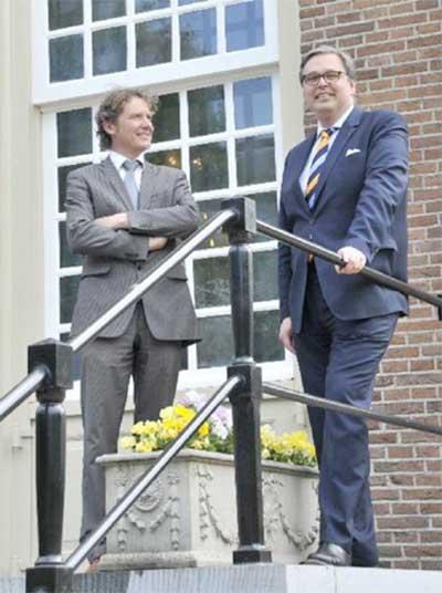 Left: Machiel van der Plas; Right: Jan de Mooij